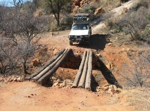 4x4 Trail Near Johannesburg