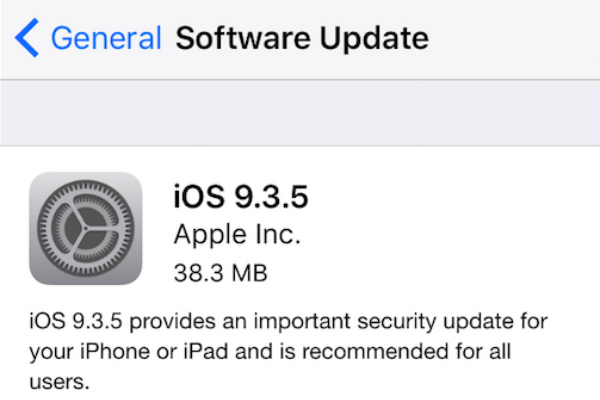 Software ios update