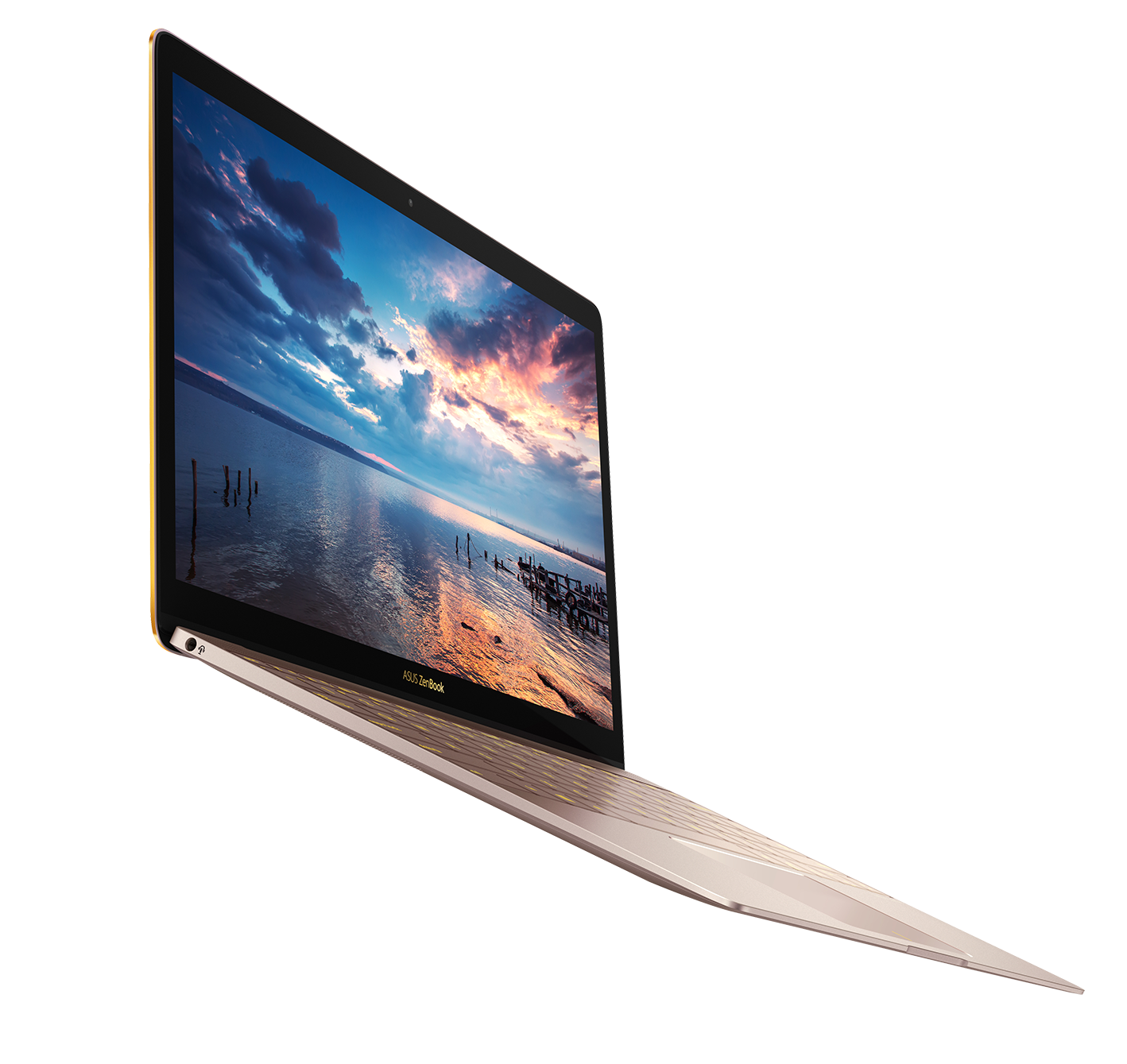 ASUS ZenBook 3_UX390_slim bezel display with wide viewing angle
