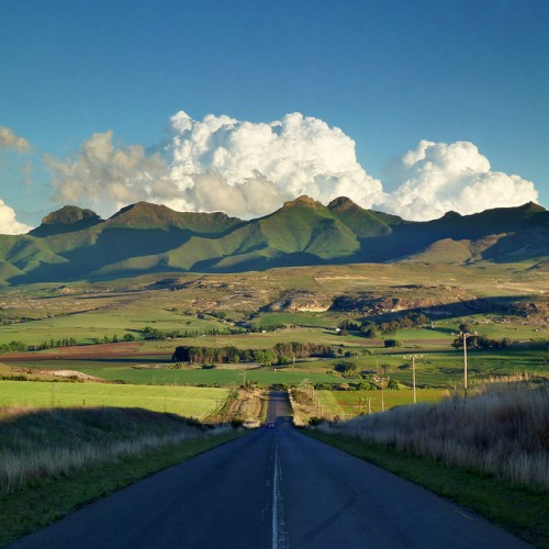 road trips, Maluti Mountains