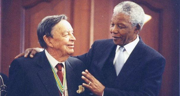 Anton Rupert, Nelson Mandela, richest person in South Africa