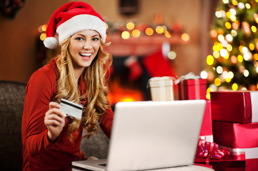 Christmas, shopping, online
