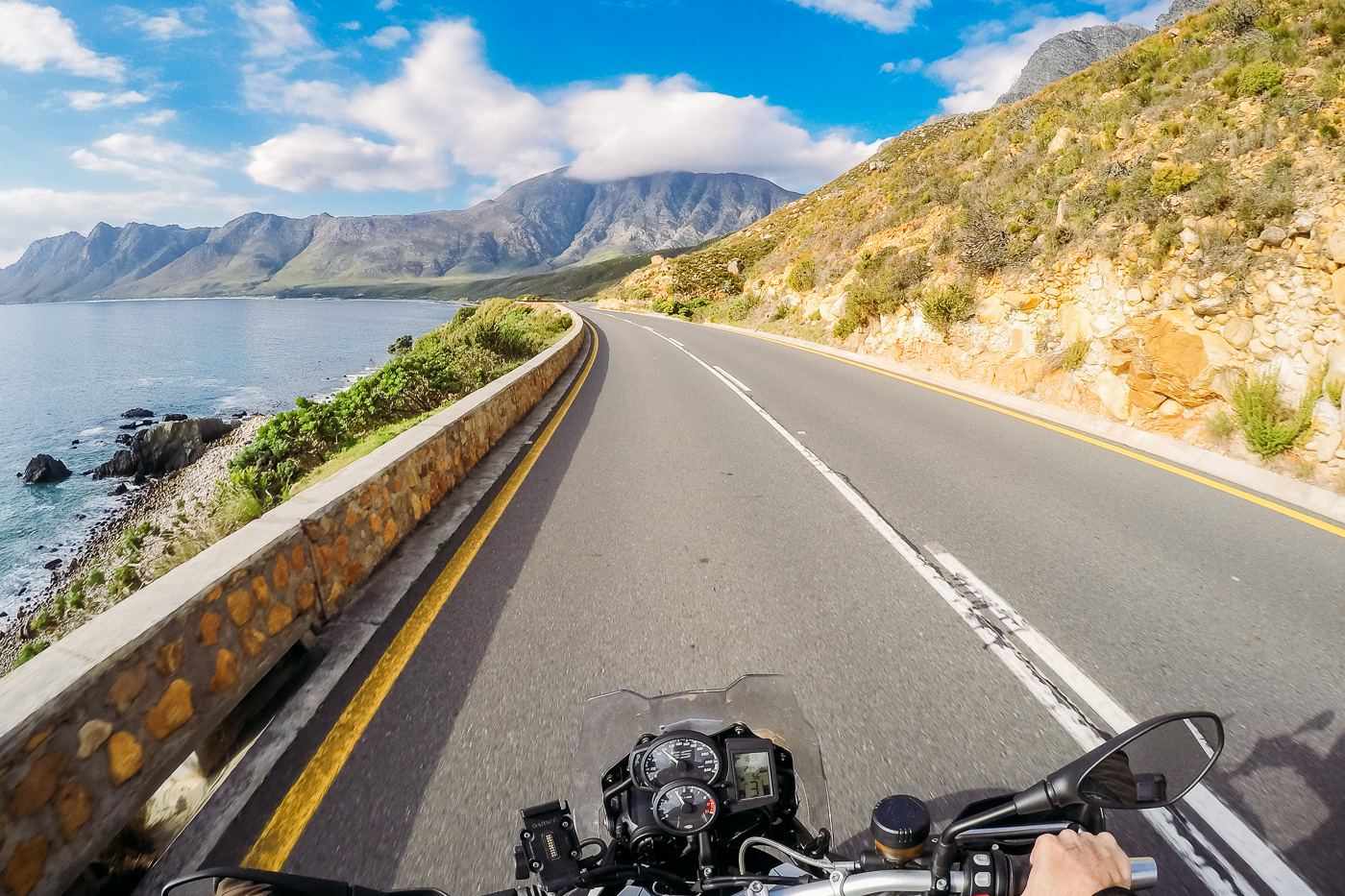 road trips, garden route, drive, road, motorbike, sea, coast, views, mountain, nature