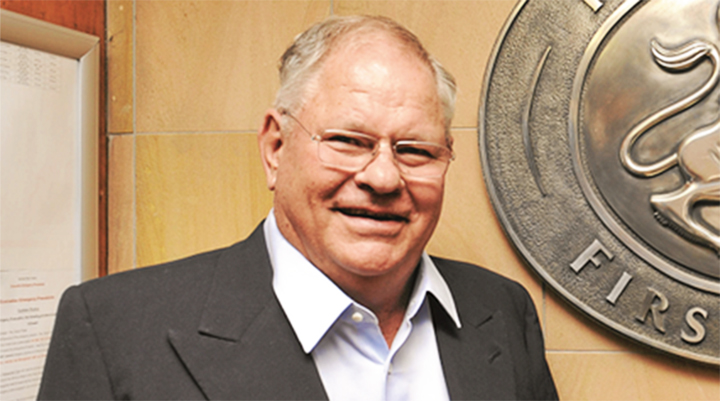 Lauritz Laurie Dippenaar, richest person in South Africa