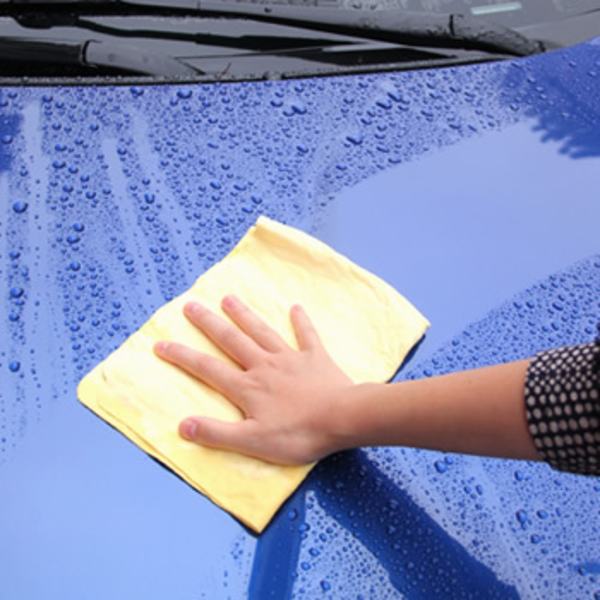 wash your car without water, chamois, waterless car wash