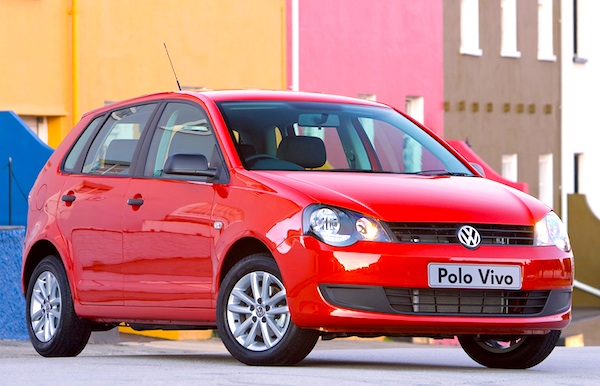 best selling cars, polo vivo, naamssa