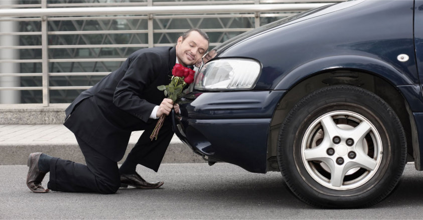 valentines day, car, love, roses